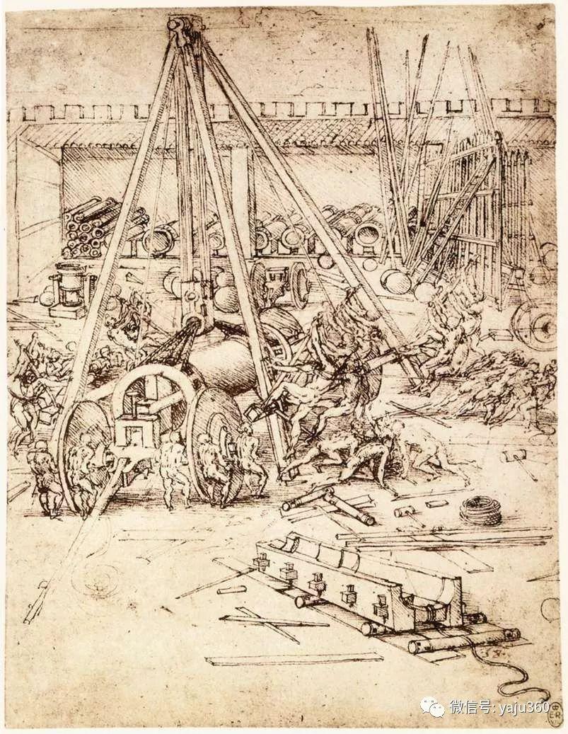 世界著名画家之达芬奇插图109