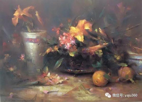 伊朗画家缤纷层次的色粉作品插图13