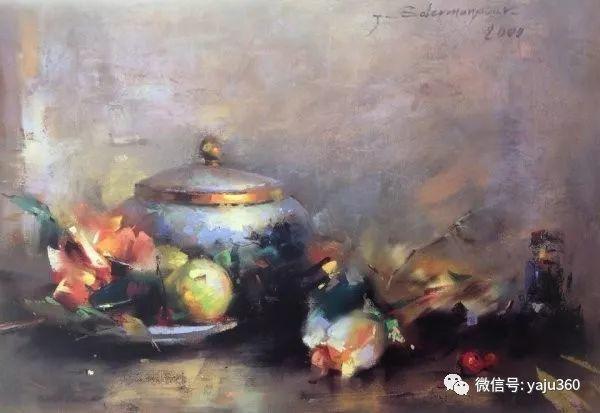 伊朗画家缤纷层次的色粉作品插图19