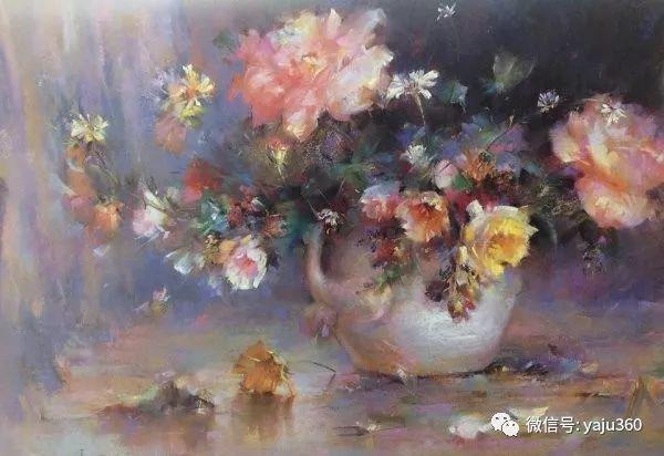 伊朗画家缤纷层次的色粉作品插图25