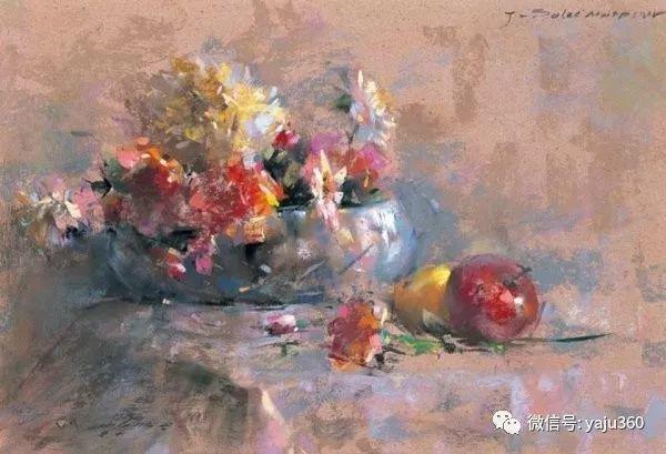 伊朗画家缤纷层次的色粉作品插图26