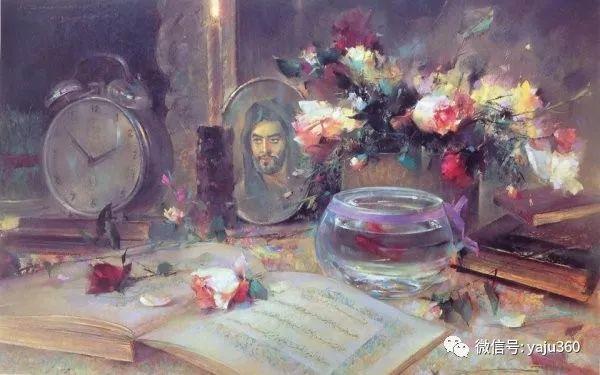 伊朗画家缤纷层次的色粉作品插图28