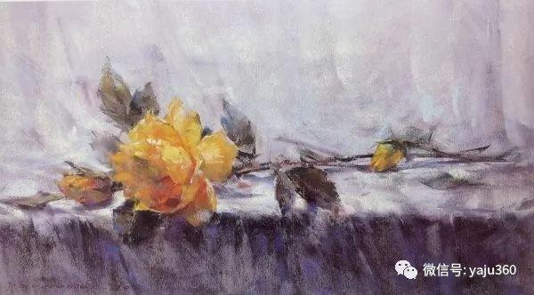 伊朗画家缤纷层次的色粉作品插图30