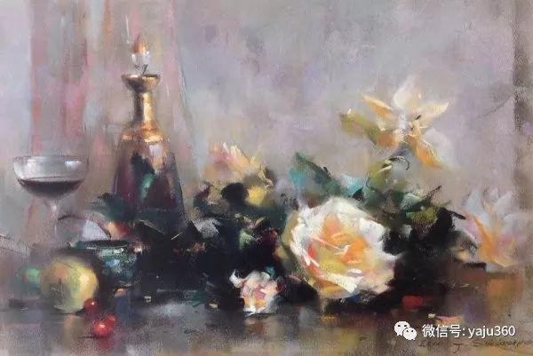 伊朗画家缤纷层次的色粉作品插图32