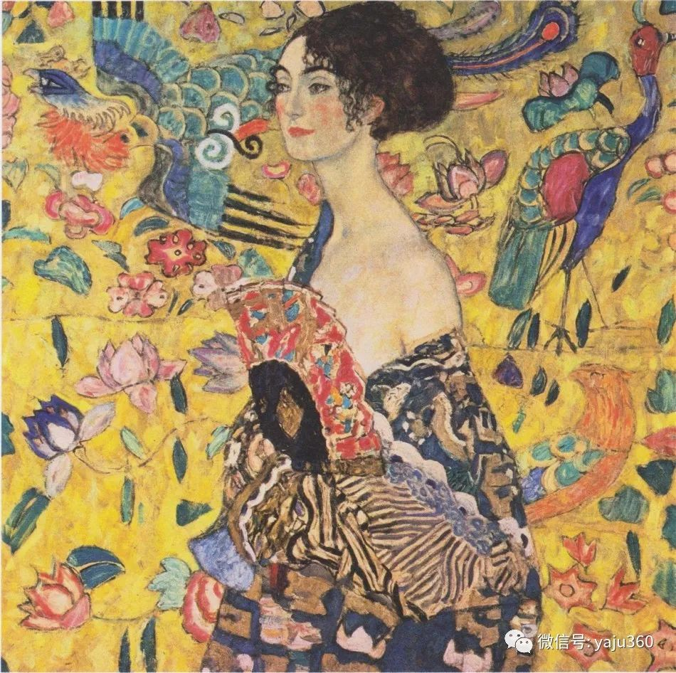 奥地利知名象征主义画家克里姆特画集插图