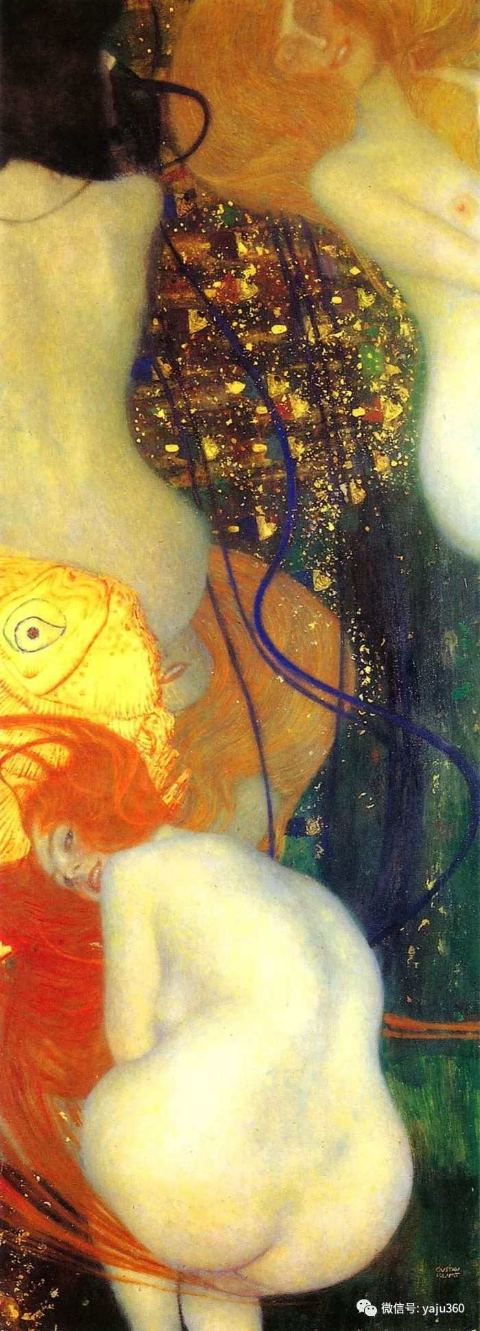 奥地利知名象征主义画家克里姆特画集插图10