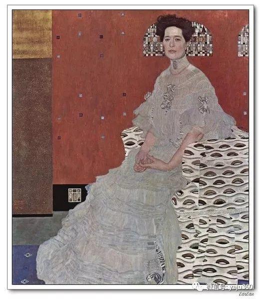 奥地利知名象征主义画家克里姆特画集插图17