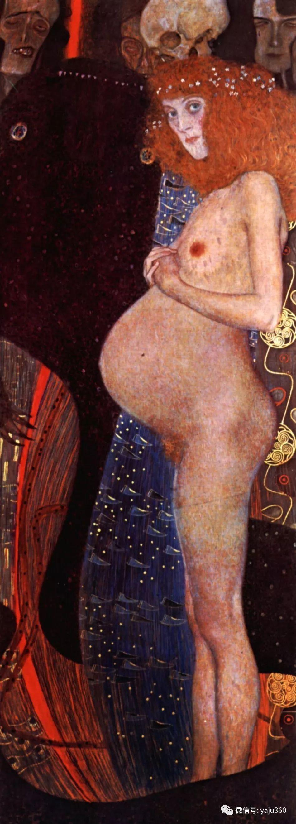 奥地利知名象征主义画家克里姆特画集插图19