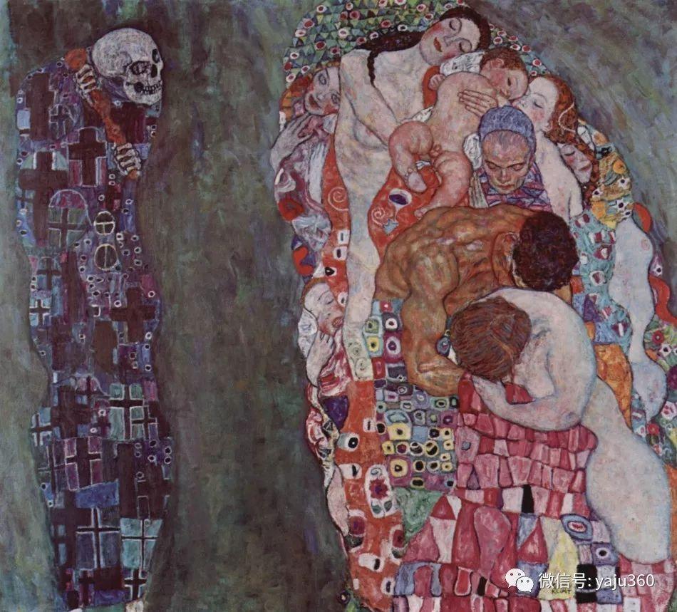 奥地利知名象征主义画家克里姆特画集插图24