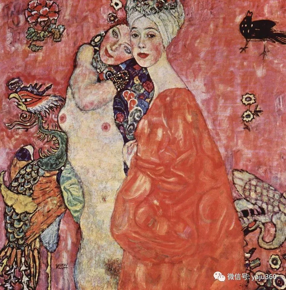 奥地利知名象征主义画家克里姆特画集插图30