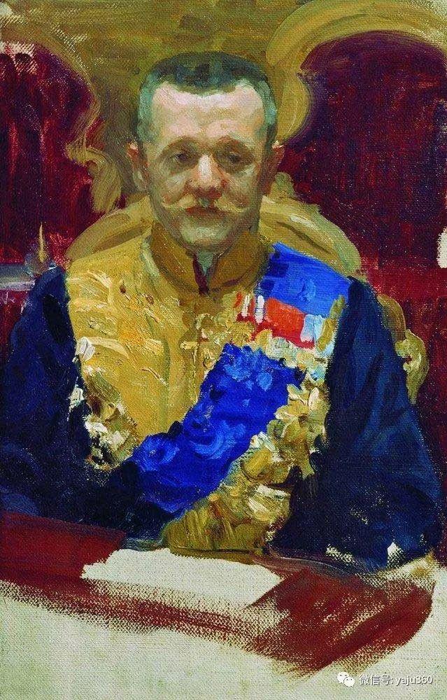 俄罗斯后印象派画家Boris Kustodiyev人物画插图42