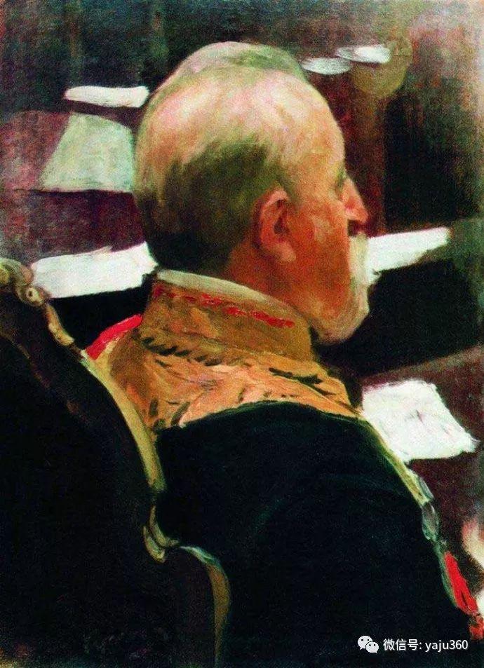 俄罗斯后印象派画家Boris Kustodiyev人物画插图47