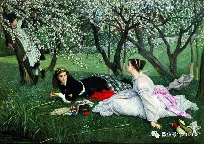 十九世纪欧洲油画欣赏插图8