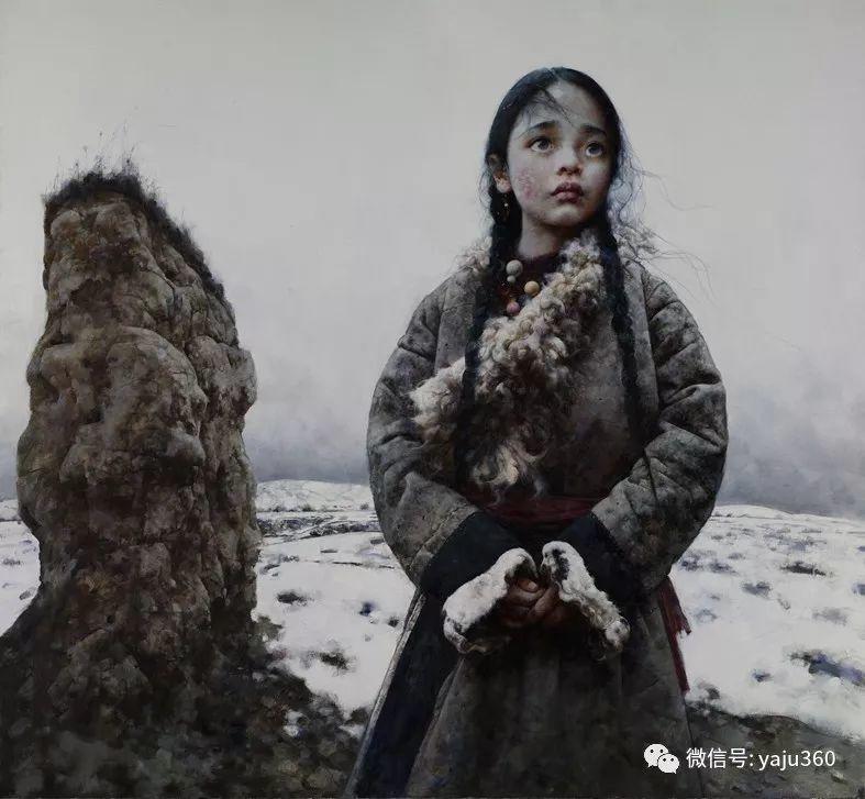中国写实画派作品插图