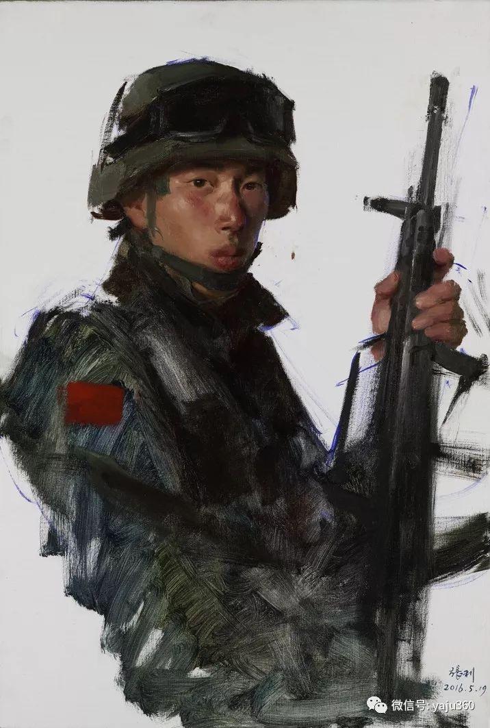 中国写实画派作品插图155