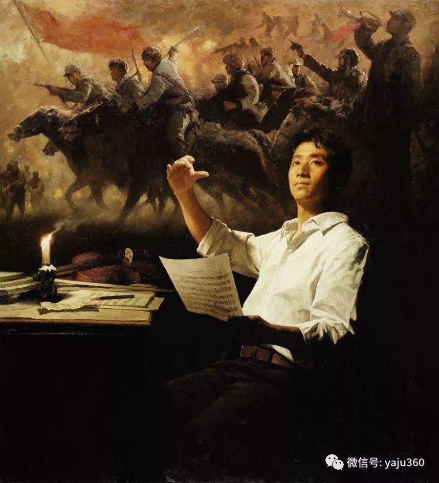 中国写实画派作品插图167