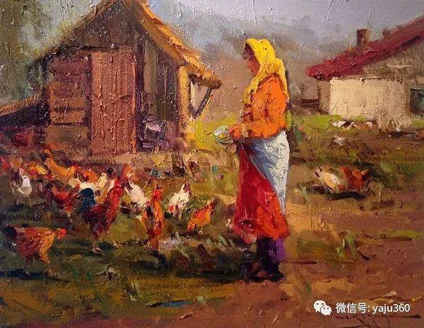 Mostafa Keghani印象绘画欣赏一插图1