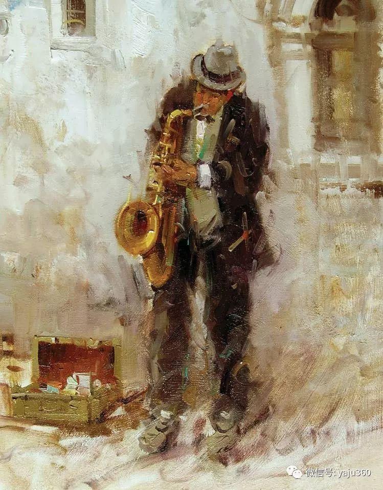 Mostafa Keghani印象绘画欣赏一插图15