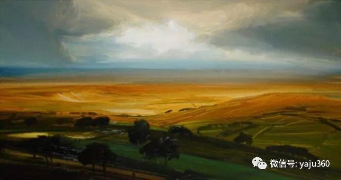 James Naughton 风景油画插图