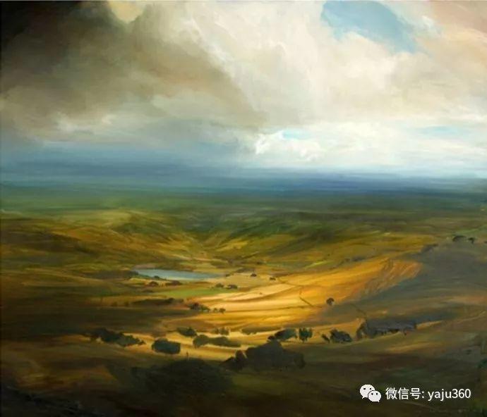 James Naughton 风景油画插图2
