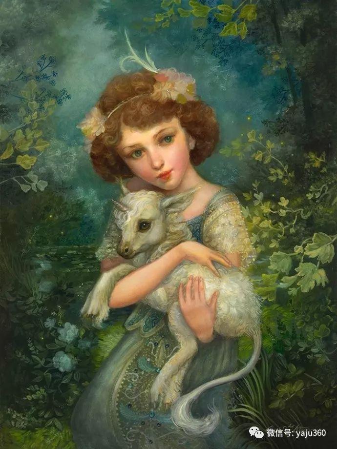 北欧神话女神插图