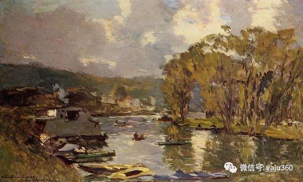 勒布尔油画作品欣赏二插图39