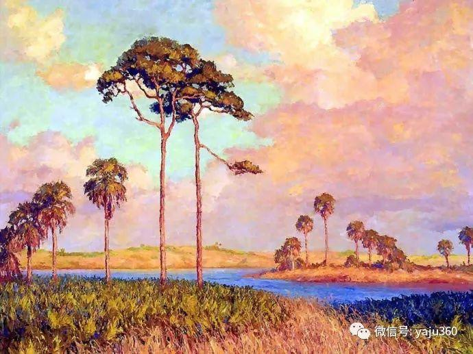 美国风景画家Albert Ernest Backus 作品欣赏插图3