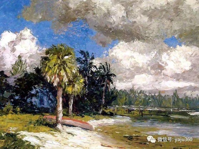 美国风景画家Albert Ernest Backus 作品欣赏插图5
