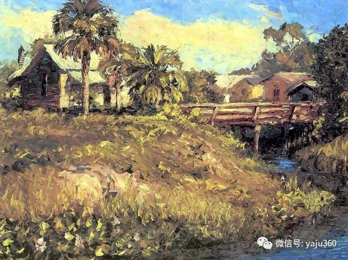 美国风景画家Albert Ernest Backus 作品欣赏插图7