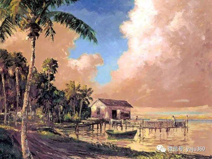 美国风景画家Albert Ernest Backus 作品欣赏插图11