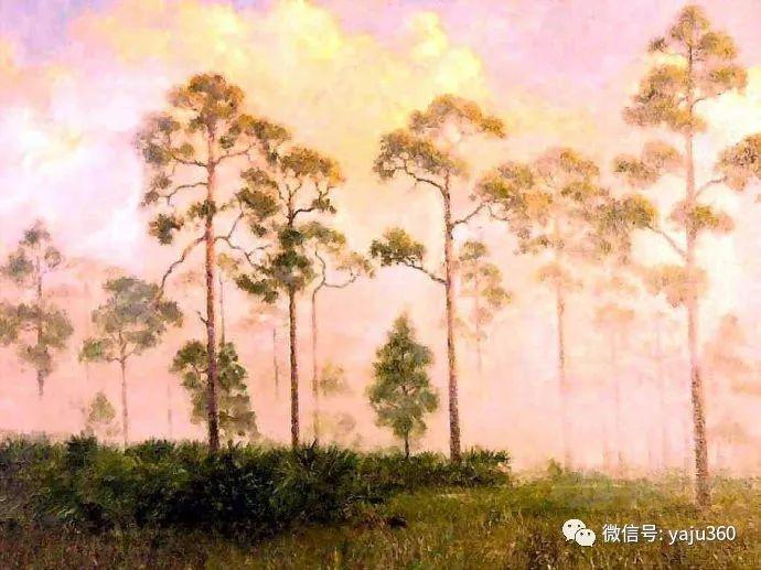 美国风景画家Albert Ernest Backus 作品欣赏插图15