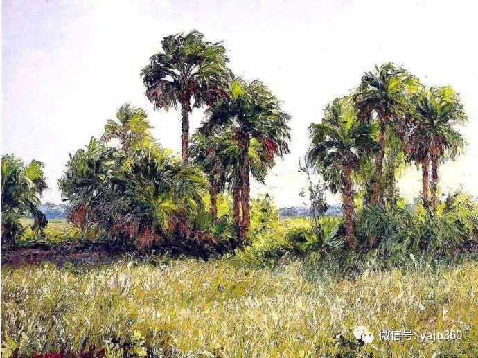 美国风景画家Albert Ernest Backus 作品欣赏插图17
