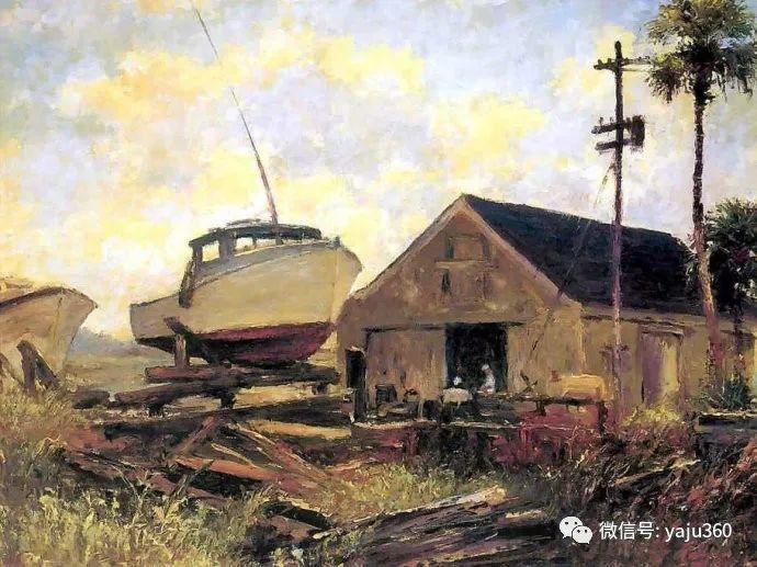 美国风景画家Albert Ernest Backus 作品欣赏插图19