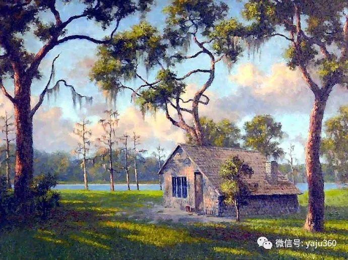 美国风景画家Albert Ernest Backus 作品欣赏插图25
