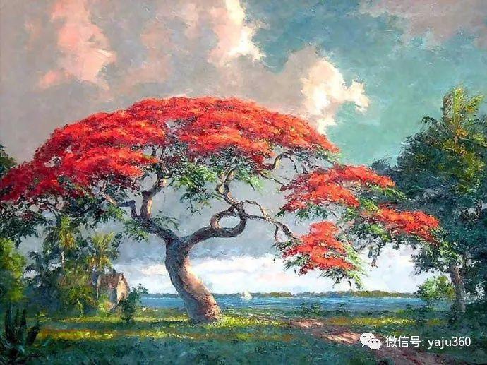 美国风景画家Albert Ernest Backus 作品欣赏插图27