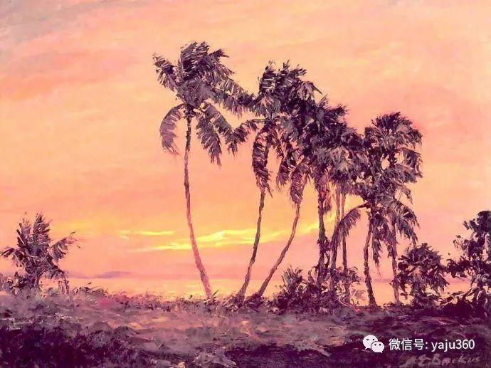 美国风景画家Albert Ernest Backus 作品欣赏插图33