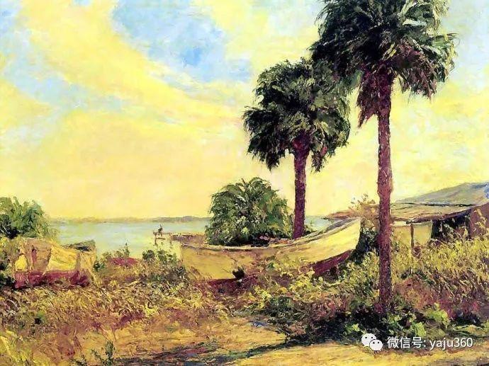 美国风景画家Albert Ernest Backus 作品欣赏插图35