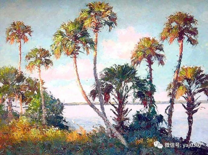 美国风景画家Albert Ernest Backus 作品欣赏插图47