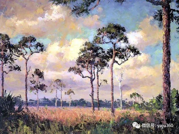 美国风景画家Albert Ernest Backus 作品欣赏插图51