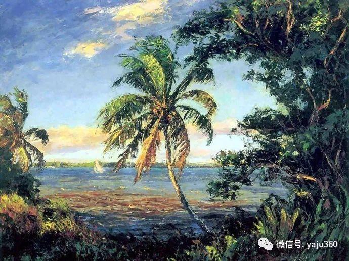 美国风景画家Albert Ernest Backus 作品欣赏插图53