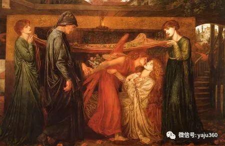 但丁·加布里埃尔·罗塞蒂油画人物作品欣赏插图8