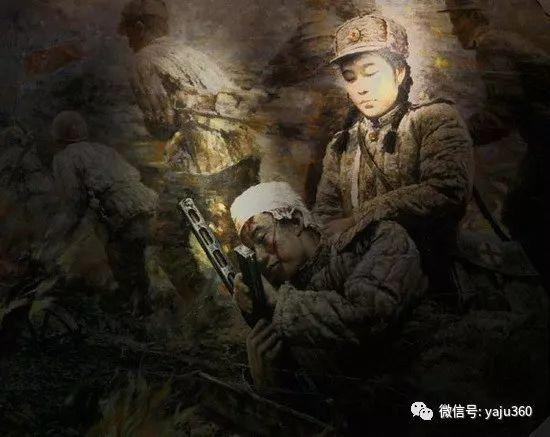 朝鮮油画中的清新女子作品插图