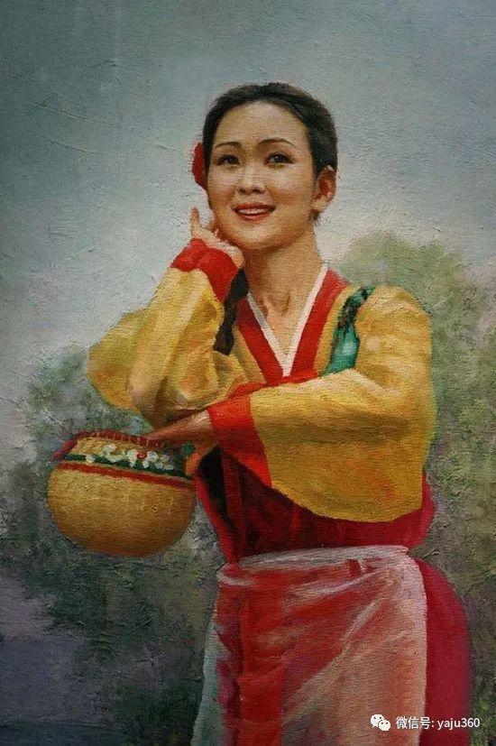 朝鮮油画中的清新女子作品插图10