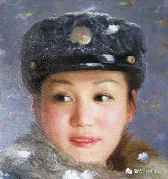 朝鮮油画中的清新女子作品插图11