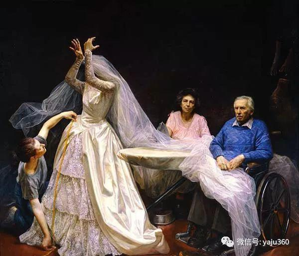 美国steven.assael油画作品插图1