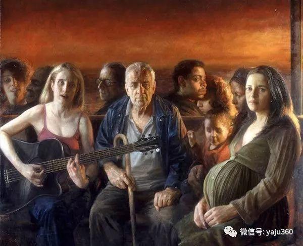 美国steven.assael油画作品插图7