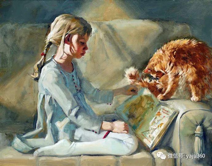 画家笔下的猫咪和现实中一样调皮插图93