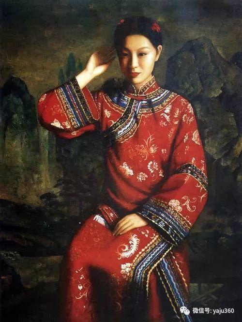 王俊英女性油画欣赏插图1