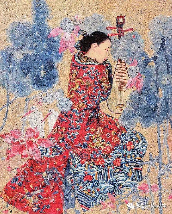 王俊英女性油画欣赏插图3