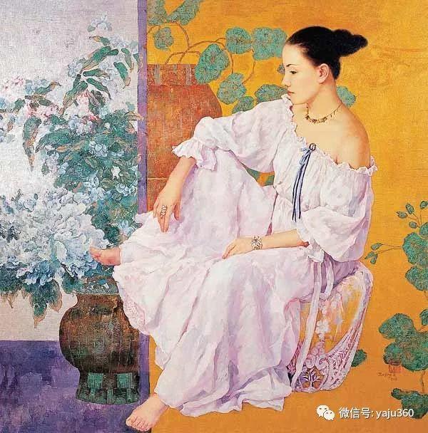 王俊英女性油画欣赏插图5
